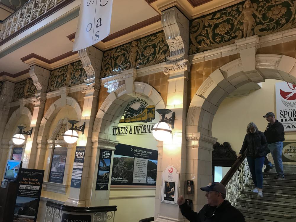 Dunedin Rail Station interior