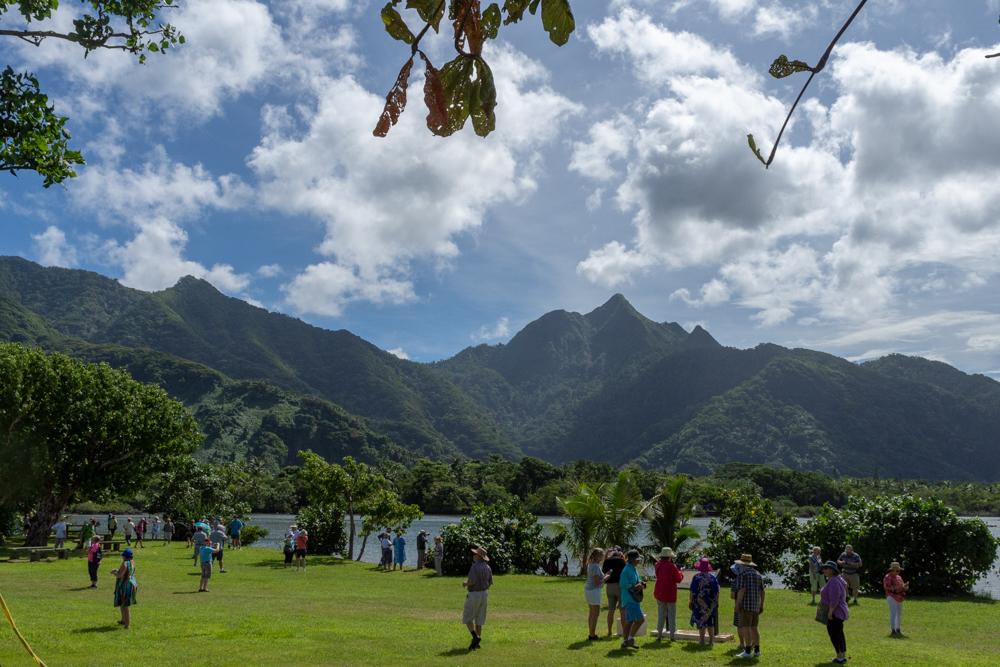 Green hills are everywhere on American Samoa.