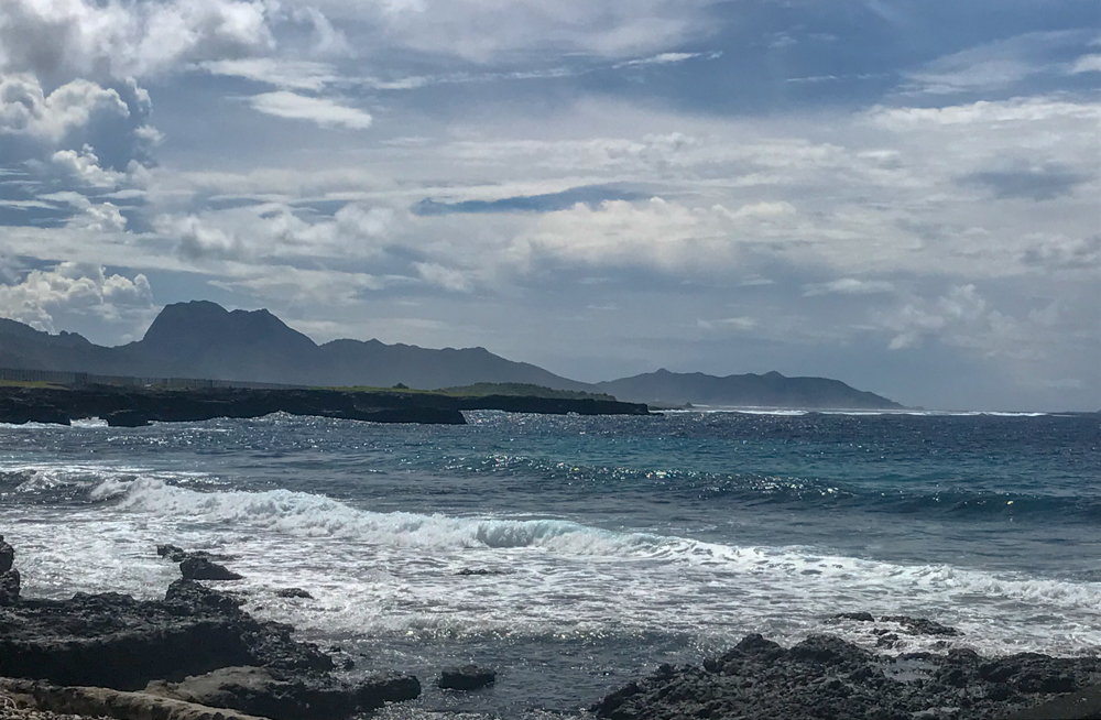 Shoreline along Pago Pago