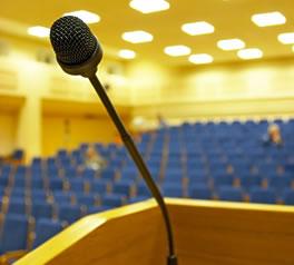 podium-and-mic « Terry Fallis, Novelist