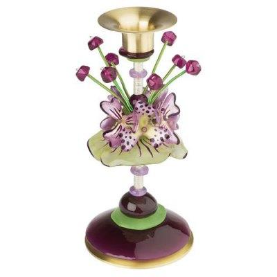 Flora Fauna Medium Candlestick