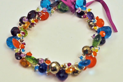 Jewel Jellybean Bracelet by Tashka