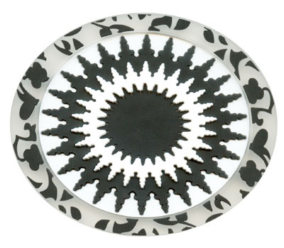 Soap Rest-Hammam Mosaic Black White