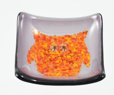 Glass Owl Mini Tray