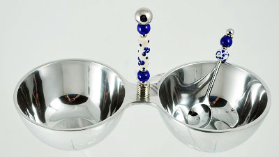 Dip Bowls and Spoon