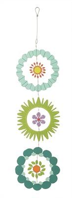 Aqua, Green, and Teal Garden Mobile