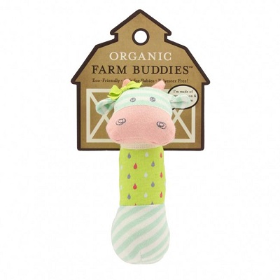 Belle Cow Squeaky Toy - Farm Buddies