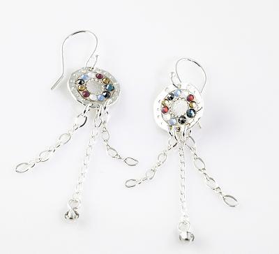 Modern Dreamcatcher Earring