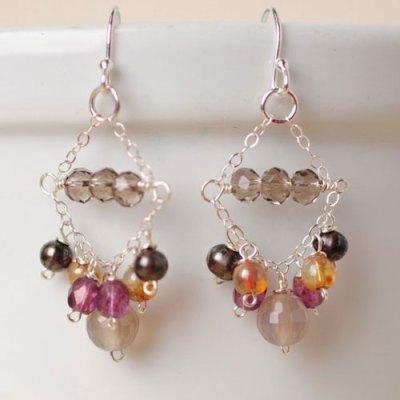 Abalone Chandelier Earring