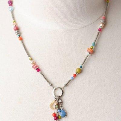 April Showers Tassle Necklace