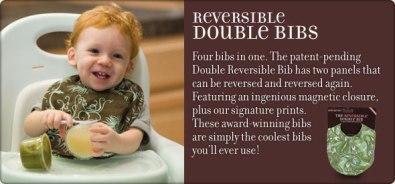 Reversible Bib by Bebe au Lait