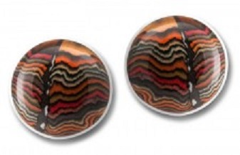 Porcelain Cufflinks - Babylon