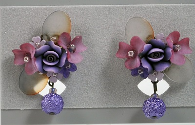 Lilac Earring