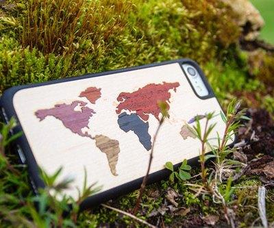 World Map Power Bank