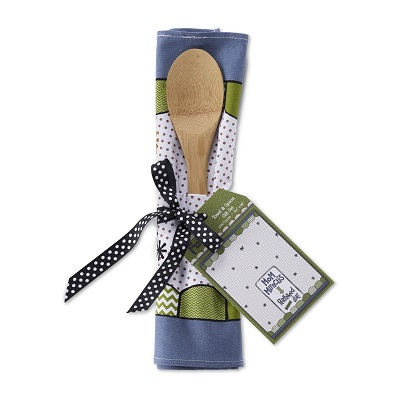 Mom Miracles Tea Towel and Spoon Set