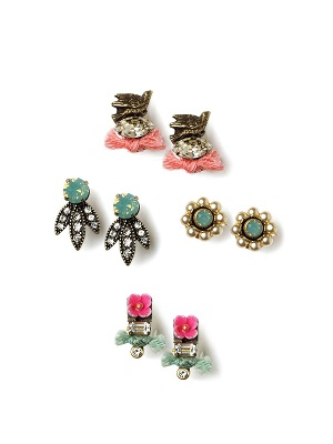 Spring Studs Earring Set