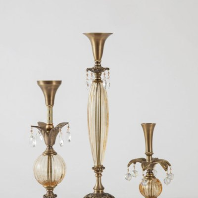 Amberesque Candlesticks by Harlequin Designs