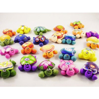 Polymer Turtle Magnets - Assorted