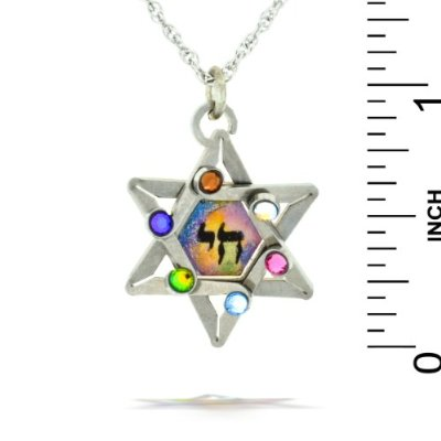 Jewish Star of David Necklace - Seeka