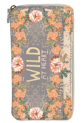 Peachy Wild Passport Holder