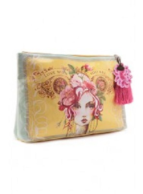 Rose Large Accessory Pouch