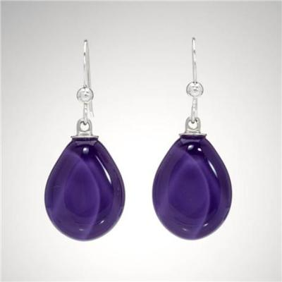 Teardrop Sola Earring - Royal Purple