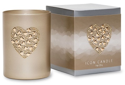 Heart of Hearts Vintage Icon Candle