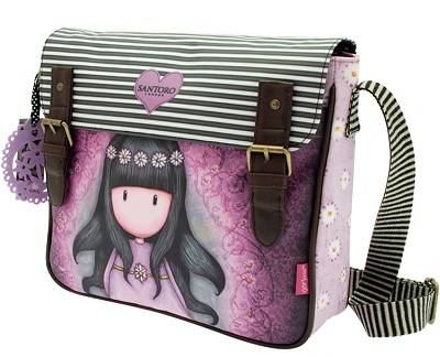 Cross Body Satchel by Gorjuss- Oops a Daisy