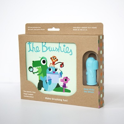 Brushies Book - Willa Brushie the Whale