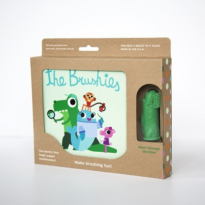 Brushies Book - Chomps Brushie the Dino