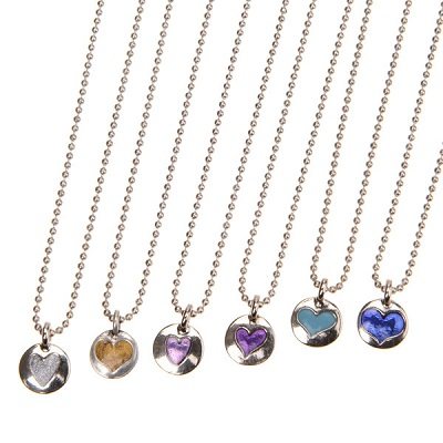 Hearts of Gold Necklaces