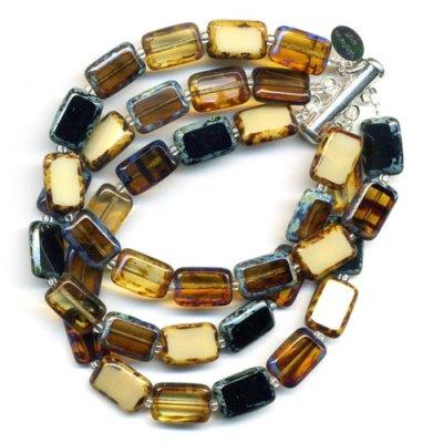 3-Strand Bracelet Trilogy - Earthy