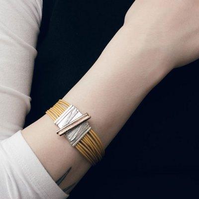 Kakor Dore Golden Bracelet