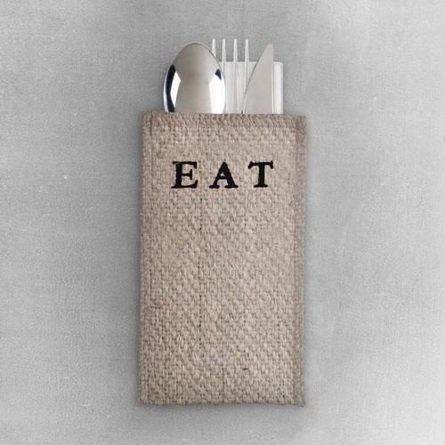 EAT Silverware Pouch