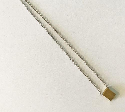 Simple Brass Pendant