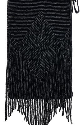Club Bag - Black Fringe