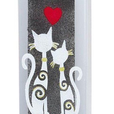 Cats in Love Candle