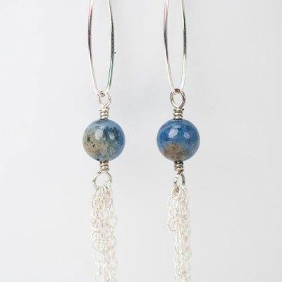 Cascades Durmuorterite Tassel Earrings
