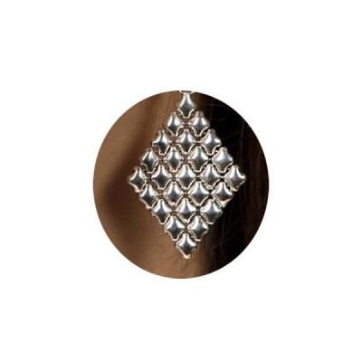 Liquid Metal Chrome Earrings