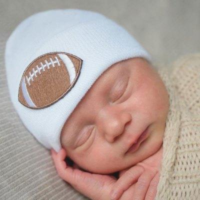Touchdown Newborn Baby Hat