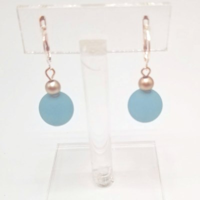 Powder Blue Earring