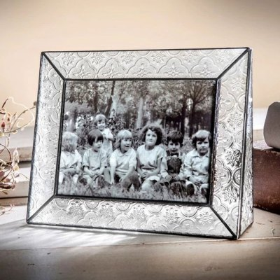 Vintage Glass 5x7 Frame