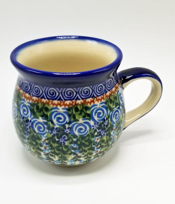 Polish Pottery Bubble Mug - Vines