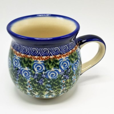 Polish Pottery Bubble Mug - Vines