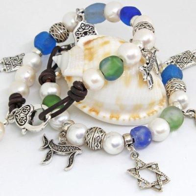 Heartstrings Judaica Charm Bracelet