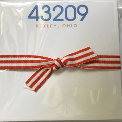 43209 Zip Code Chubbie Notepad