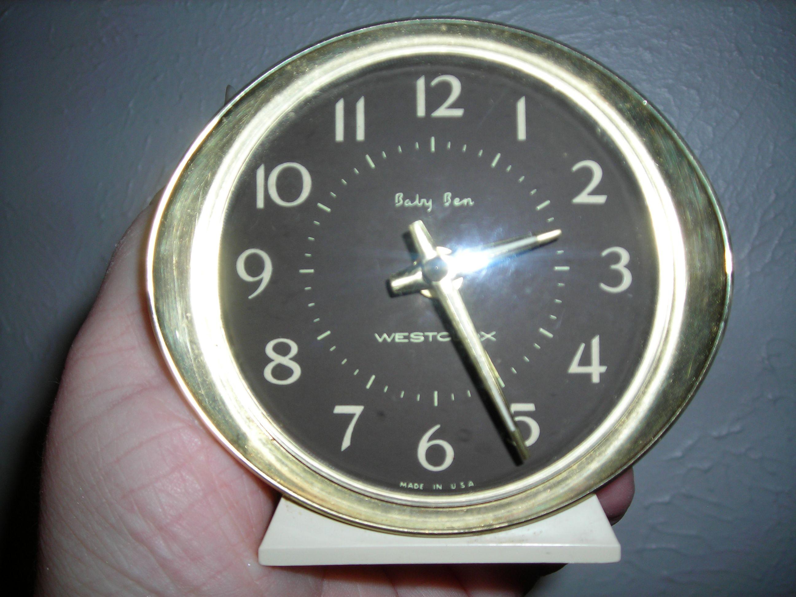 """Great old clock """"Baby Ben"""" ... in honor of MY Ben's birthday"""