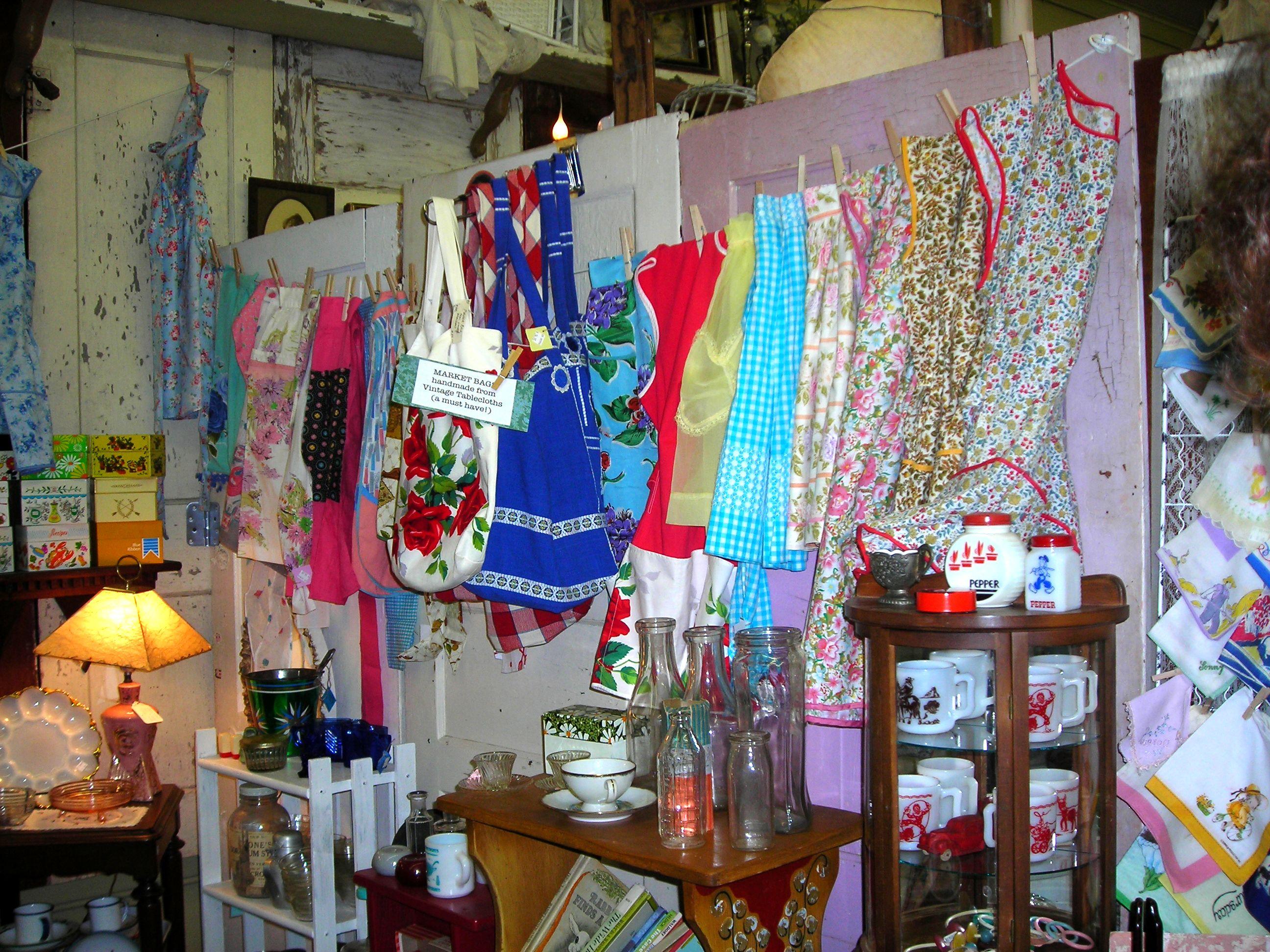 sweet vintage aprons