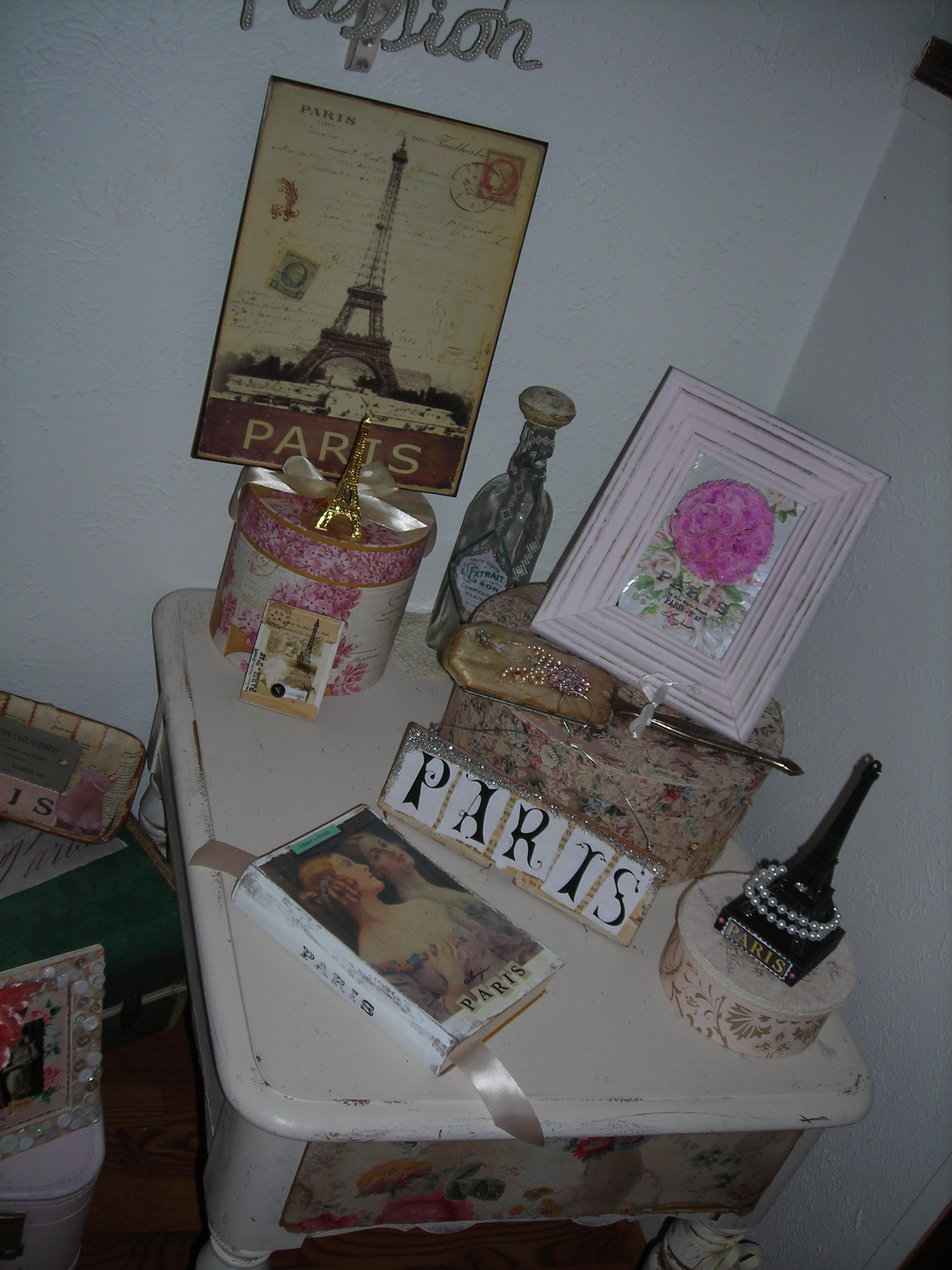 paris-themed collection