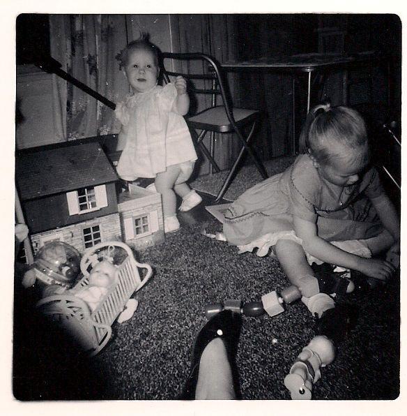 baby me, my sister belinda cmas 1961